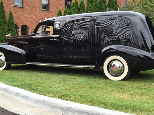 Hearse Car Show