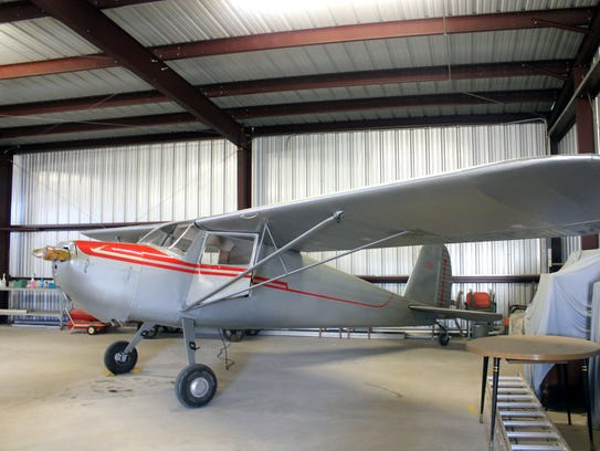 One of the planes Bob restored for his late father