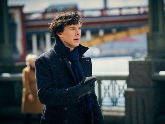 Sherlock Holmes (Benedict Cumberbatch) faces an emotional