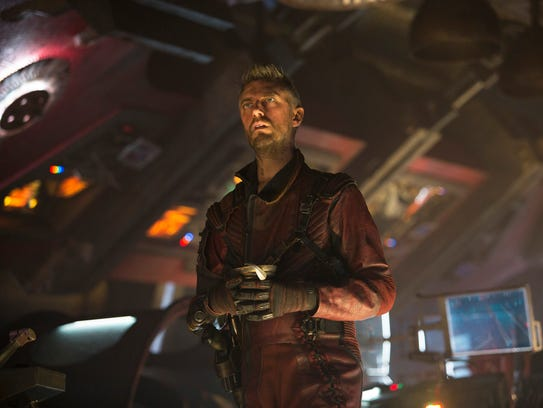Sean Gunn plays Kraglin the Ravager in 'Guardians of