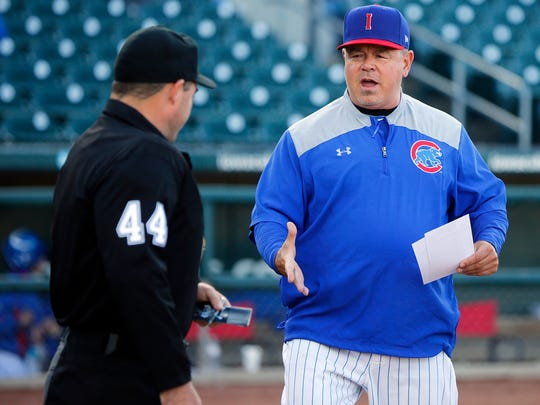 Iowa Cubs manager Marty Pevey could have the team back in the playoffs for the first time since 2008.