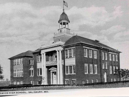 Wicomico High School, c.1920.
