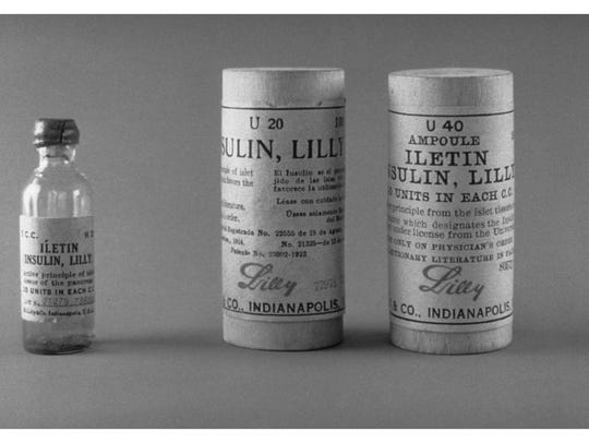First insulin, made by Lilly, made company a leader