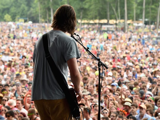 Manchester Orchestra -- photographed performing at
