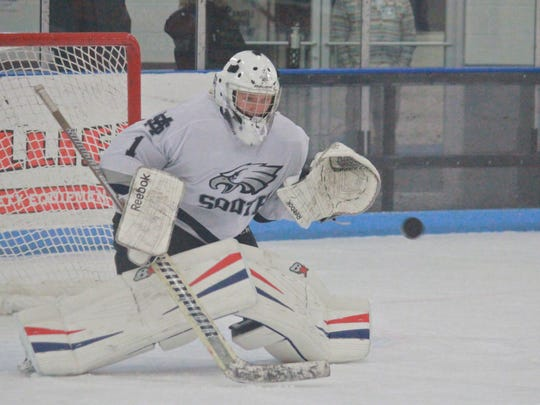 Owen Liskiewicz of Middletown South ice hockey.