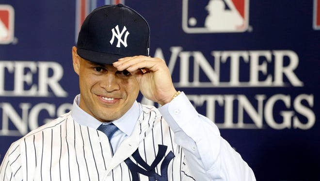 The Marlins traded Giancarlo Stanton to the Yankees this winter.