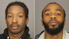 Juan Williams, left, and Divine Holmes charged in connection with shooting incident on Driving Park Avenue on May 15, 2016.