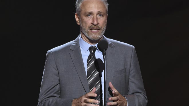 Former Daily Show host Jon Stewart joined others last week, outside the U.S. Capitol in Washington, DC., to advocate for veterans exposed to burn pits.