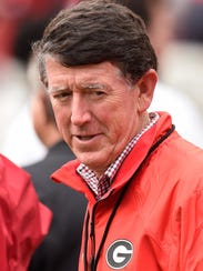 "Georgia Athletic Director Greg McGarity says, ""Everything"