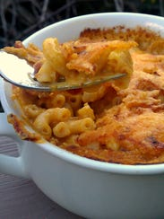 Pumpkin mac and cheese.