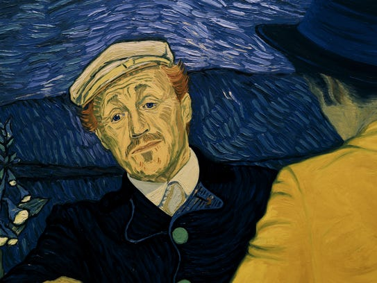 """Jerome Flynn in a scene from """"Loving Vincent."""""""