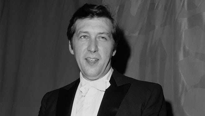 """June 21, 2015: Gunther Schuller, who wrote and directed the opera """"Visitation,"""" at the Metropolitan Opera House at Lincoln Center in New York City on June 28, 1967.  Schuller, the leading proponent of the Third Stream movement fusing jazz and classical music, has died at age 89. His son, bassist Ed Schuller, said his father died Sunday at a hospital in Boston."""