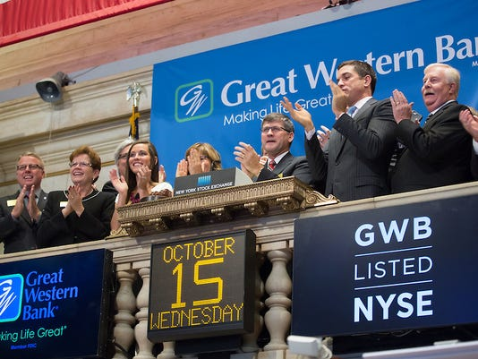 Great Western Bank at New York Stock Exchange
