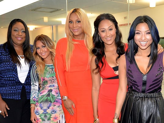 Real quot a daytime talk show starring from left loni love adrienne