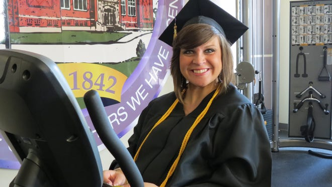 Molly Delancey of Lexington graduated with honors from the College of Professional Studies during Bethel University's summer commencement on Saturday.