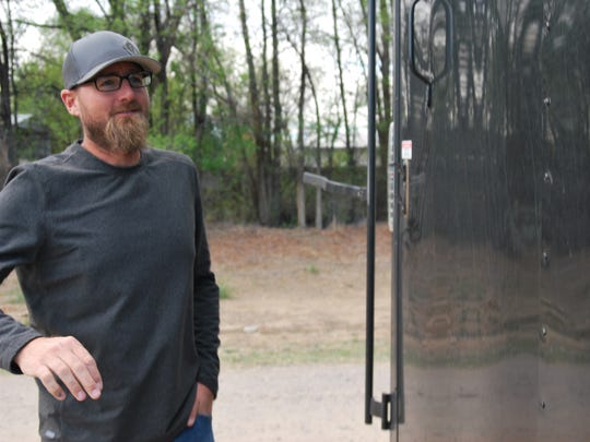 Businesses like those run by Darin Blakley of Farmington Outdoor Adventures serving users of local recreation areas figure big in the City of Farmington's plans to expand and enhance the area's outdoor tourism venues. Blakley is seen here in a May 2018 file photo.