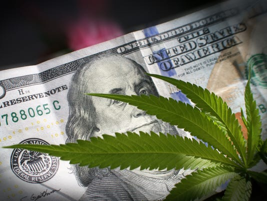 Marijuana With Money High Quality