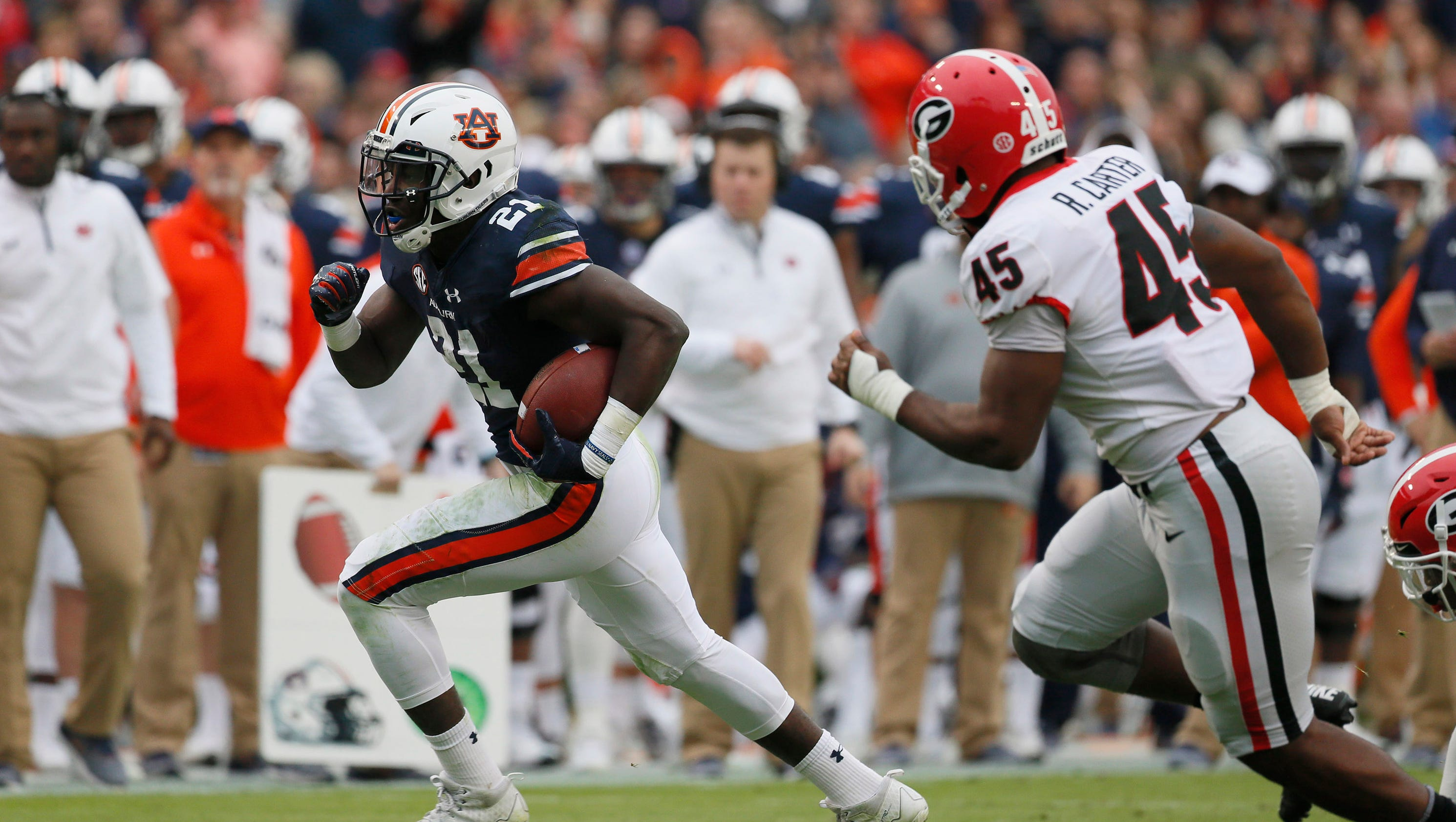 Football Playoff Rankings Out Top >> Takeaways from Auburn's win vs. Georgia: Top team in CFP rankings falls