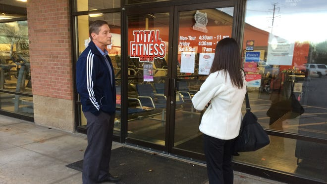 Total Fitness Center closed unexpectedly Friday, leaving customers angry and confused.