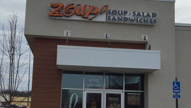 Zoup! is a restaurant that opened last November in the Eastgate area of Union Township, Clermont County.