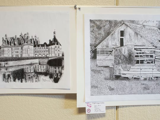 Selected works of art created by Escambia County School District students are now on display at the J.E. Hall Center on Texar Dr. The 58th Bright Images Exhibition will be on display through May 6th.