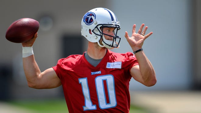 Titans quarterback Jake Locker has rebounded quickly from foot surgery.