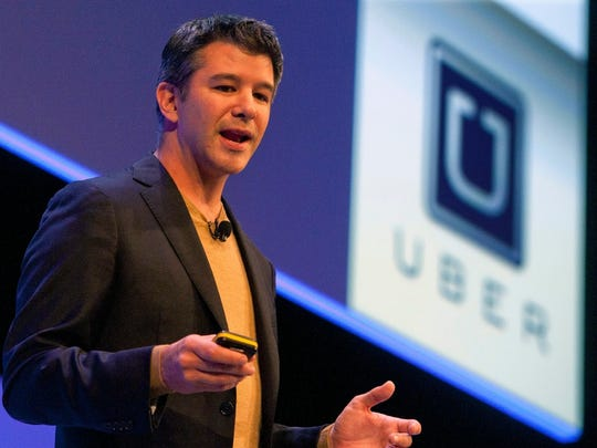 Uber CEO Travis Kalanick is stepping down from President