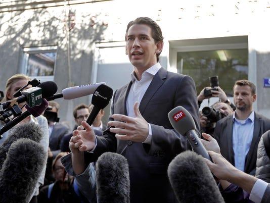 AP APTOPIX AUSTRIA ELECTIONS I ELN AUT