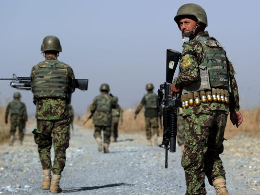 AFGHANISTAN-UNREST-MILITARY