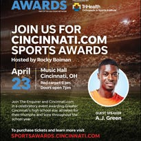Area preps athletes nominated for top honors at 2018 Cincinnati.com Sports Awards.