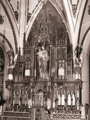 The Statue of St. Joseph in its original setting up