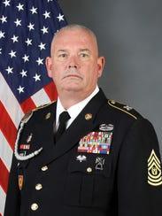 Command Sgt. Maj. Tonny L. Pridgen