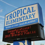For Amy Parsons, her work is about reaching students whether directly or through the teachers she mentors. Amy Parsons, teacher at Tropical Elementary School on Merritt Island, was named Brevard County's Teacher of the Year.