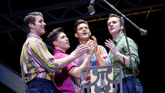 """""""Jersey Boys"""" is the Broadway musical story of Frankie Valli and the Four Seasons."""