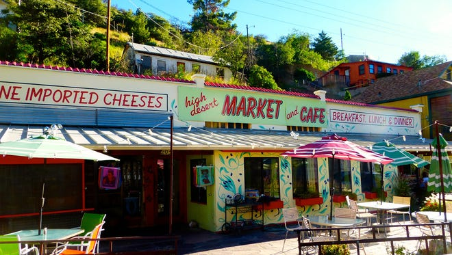 High Desert Market and Café offers gourmet groceries and imported gift items as well as an eclectic menu.