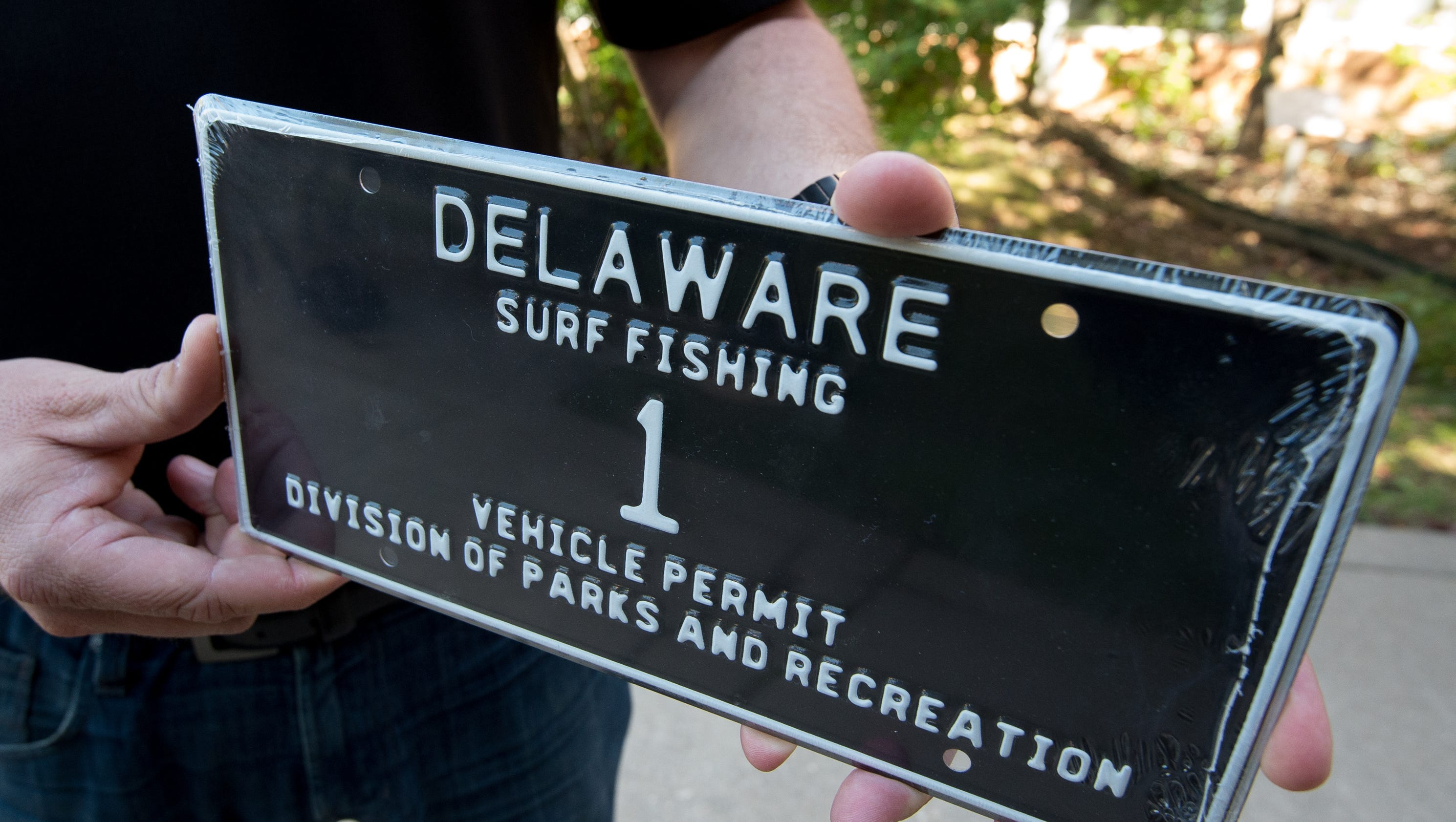 Delaware surf fishing tag no 2 sold for 20k now no 1 for Delaware surf fishing