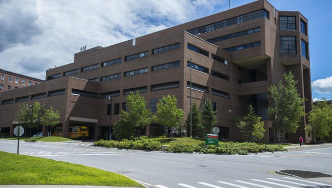 The McClure Buidling at the University of Vermont Medical Center in Burlington, seen on Thursday, August 6, 2015.
