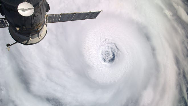 Satellites and other technology help improve weather forecasts.
