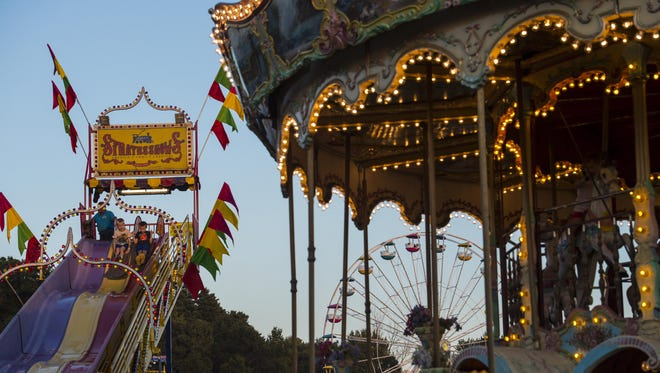 The Champlain Valley Fair opens Friday and runs through Sept. 3.
