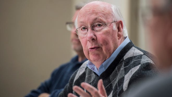 Wayne County Commissioner Ken Paust
