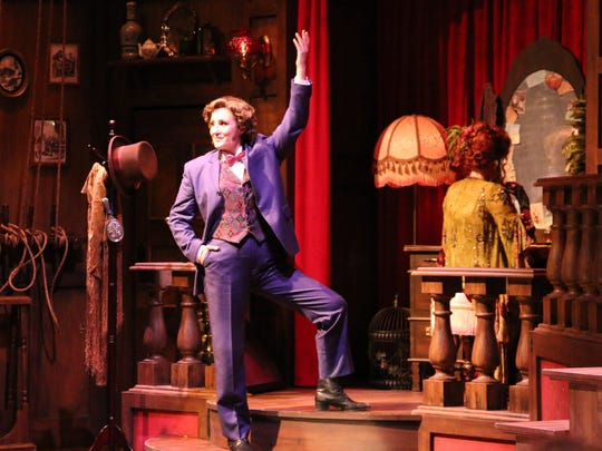 "Anne Brummel as Edwin Drood in ""The Mystery of Edwin Drood"" at Riverside Theatre in Vero Beach earlier this season."