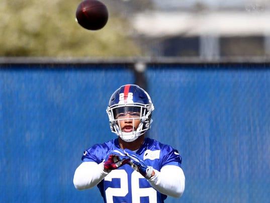 Giants rookie minicamp