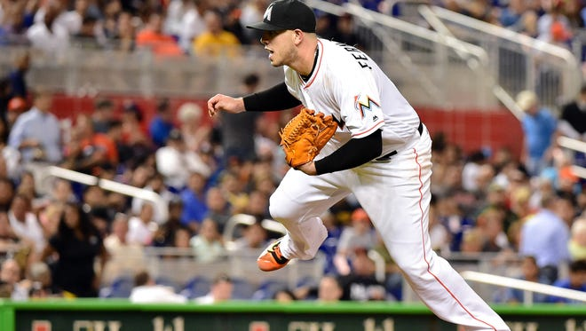 Jose Fernandez struck out 253 batters in 182 1/3 innings, perhaps his best statistic in a dominant 2016 season.