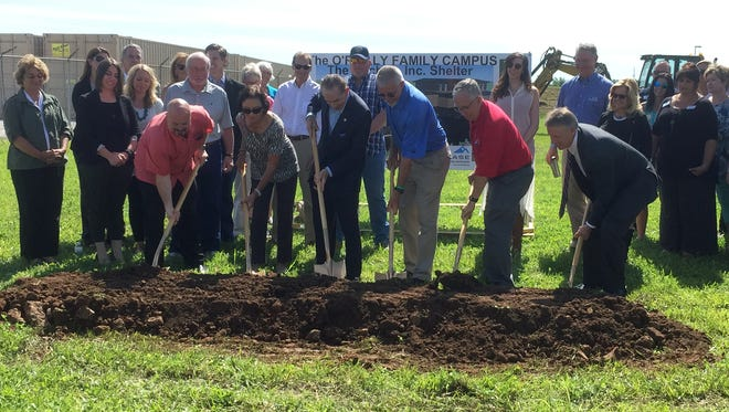 The Kitchen, Inc. breaks ground a new campus at the intersection of North Glenstone Avenue and East Chestnut Expressway