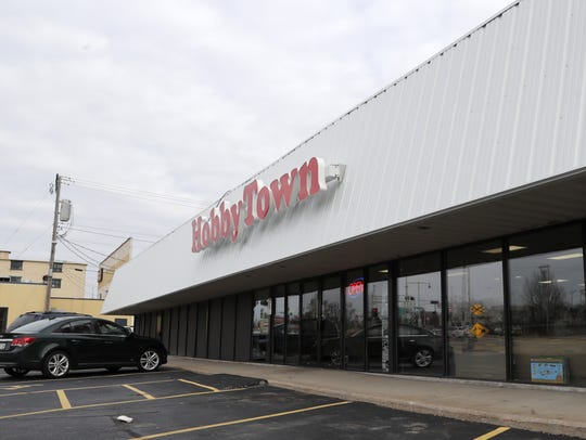 HobbyTown at 122 S. Memorial Drive in Appleton will soon have a RadioShack sign in its window.