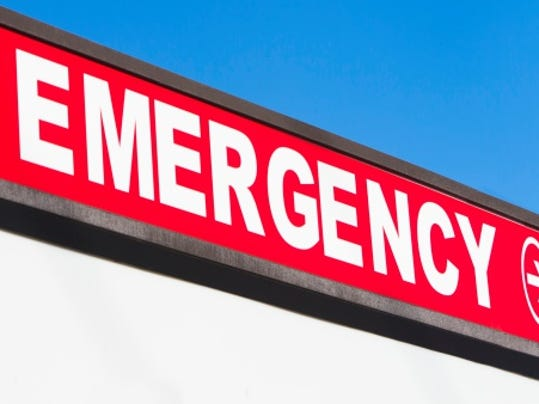 Stock image: Emergency