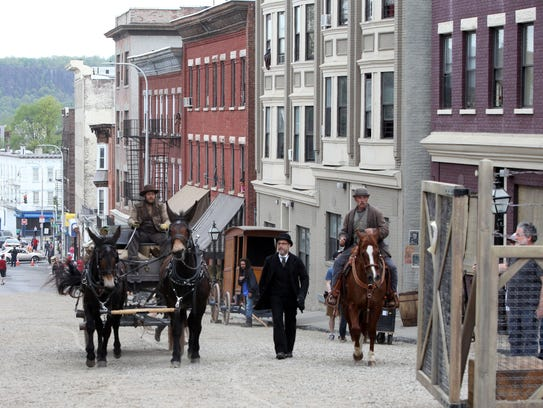 """Filming for the Cinemax series """"The Knick"""" took place"""