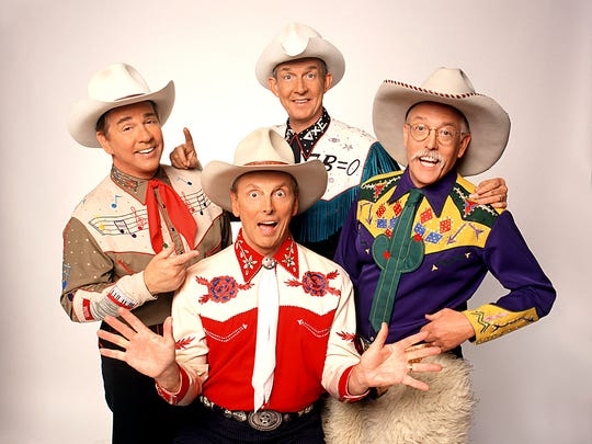 The group Riders in the Sky tips its hat to cowboy music and will do so July 29 at the Wichita Theatre.