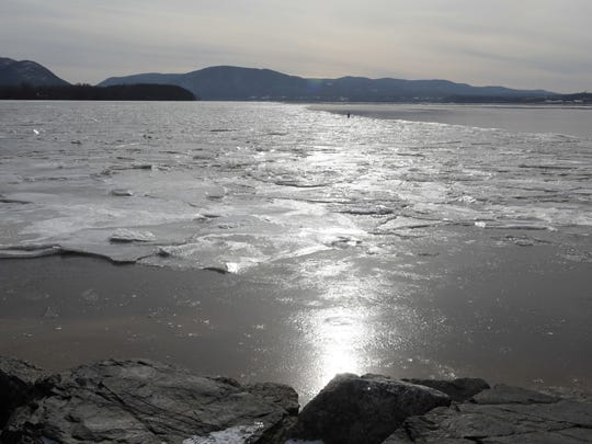 A view of the Hudson River from Scenic Hudson's Long