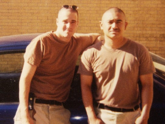 Pvt. Mark Gratton Jr. and Cpl. Tomas Sotelo Jr., were